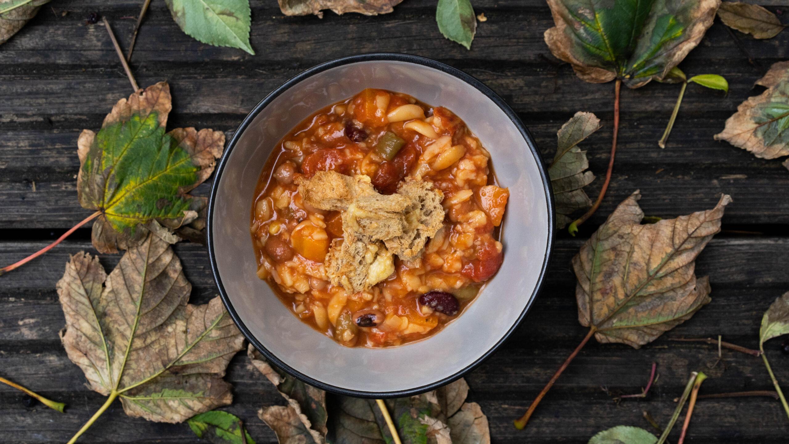 Autumn Orzo Stew